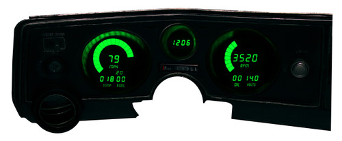 1969 Chevy Chevelle LED Digital Gauge Panel DP5002