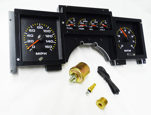 1984-1989 Corvette Analog Replacement Gauge Panel - AP2003