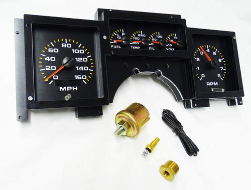 1984-1989 Corvette Analog Replacement Gauge Panel - AP2003
