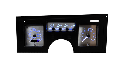 1984-1989 Chevy Corvette 3D Analog Gauge Panel - BLUE