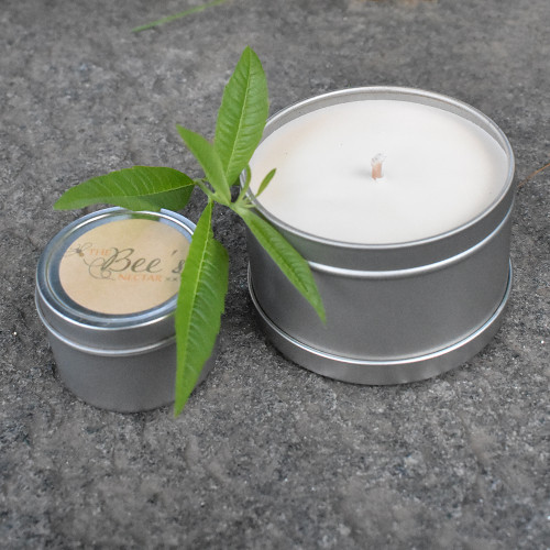 The Bee's Nectar Vermont Candle - Lemon Verbena Large