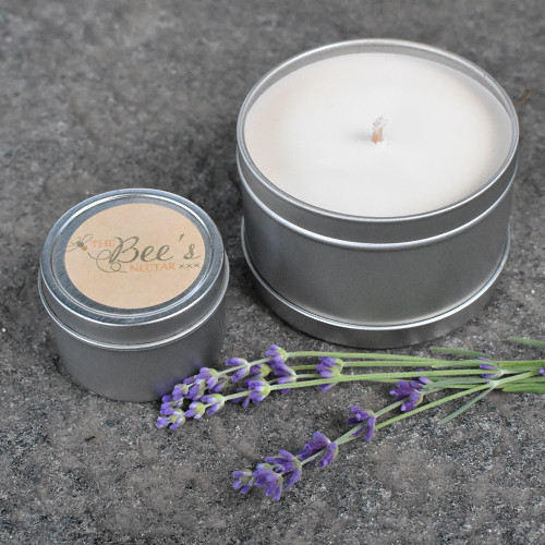 The Bee's Nectar Vermont Candle - Lavender Small