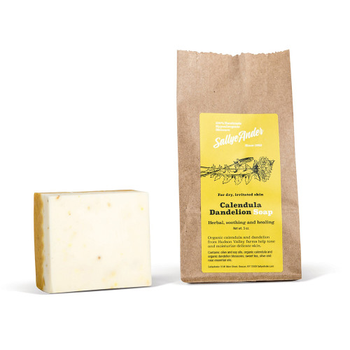 Sallye Ander Calendula Dandelion Soap