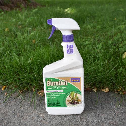 Bonide BurnOut Fast Acting Weed and Grass Killer
