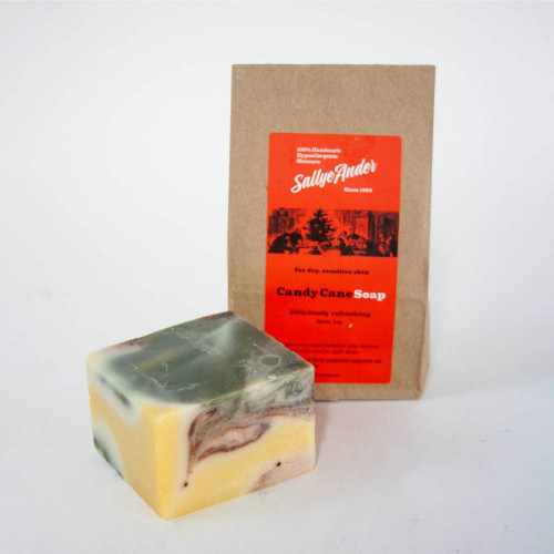 Sallye Ander Candy Cane Soap