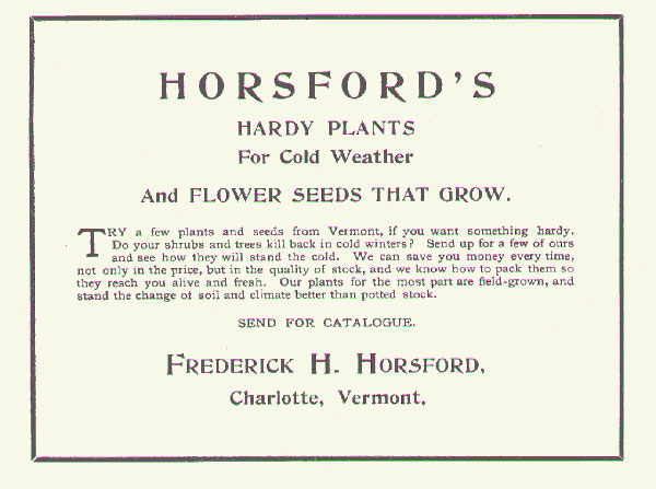 Horsford catalog listings