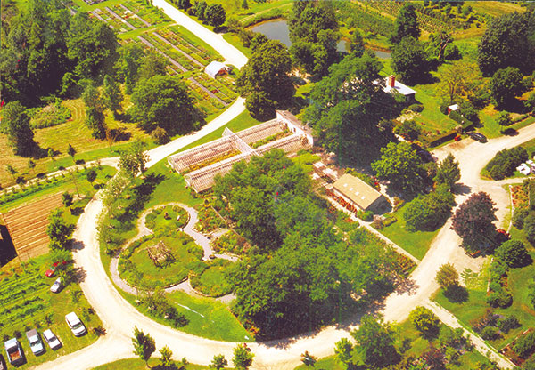 Horsford aerial photo from mid 2000s