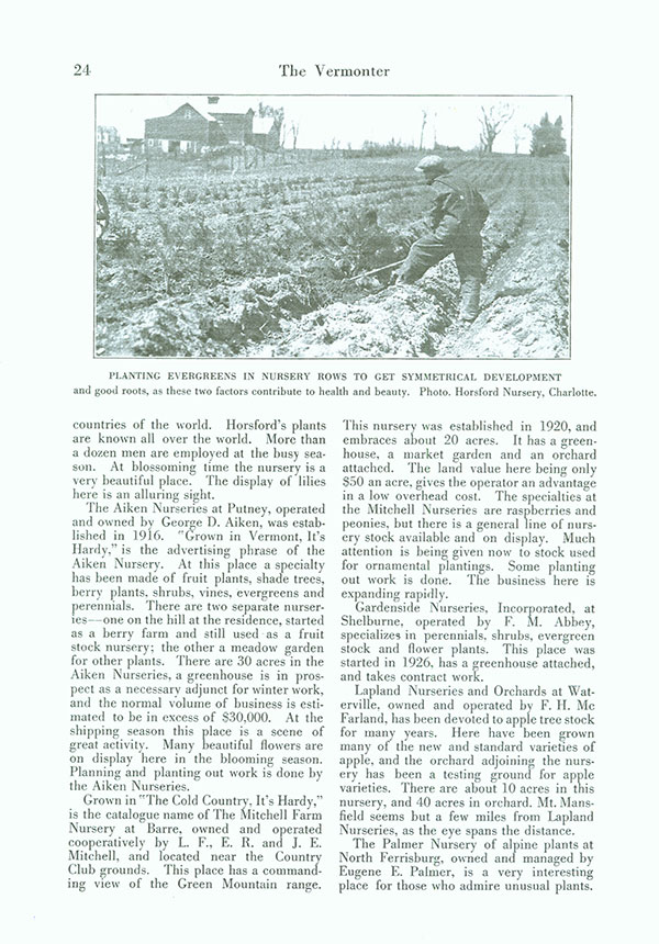 Horsford Catalog Autumn Supplement 1924
