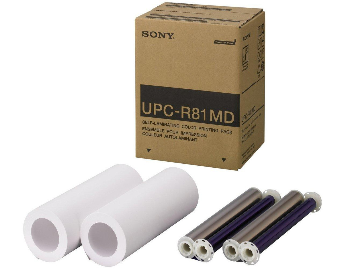 Sony Medical Sony UPC-R81MD Letter Size Color Print Pack