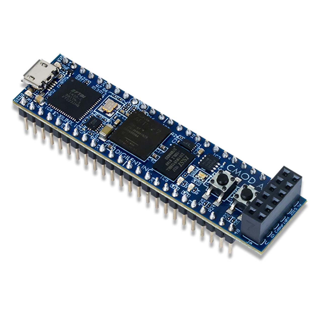 Cmod A7:Xilinx Artix-7 開發板 │  最小系统萬用電路板 │ 美國網友五星好評  │  A7-15T A7-35T 雙版本