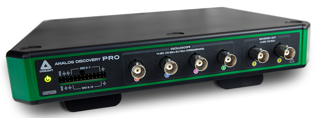 Analog Discovery Pro 3000 Series: Portable High Resolution Mixed Signal  Oscilloscopes - Digilent