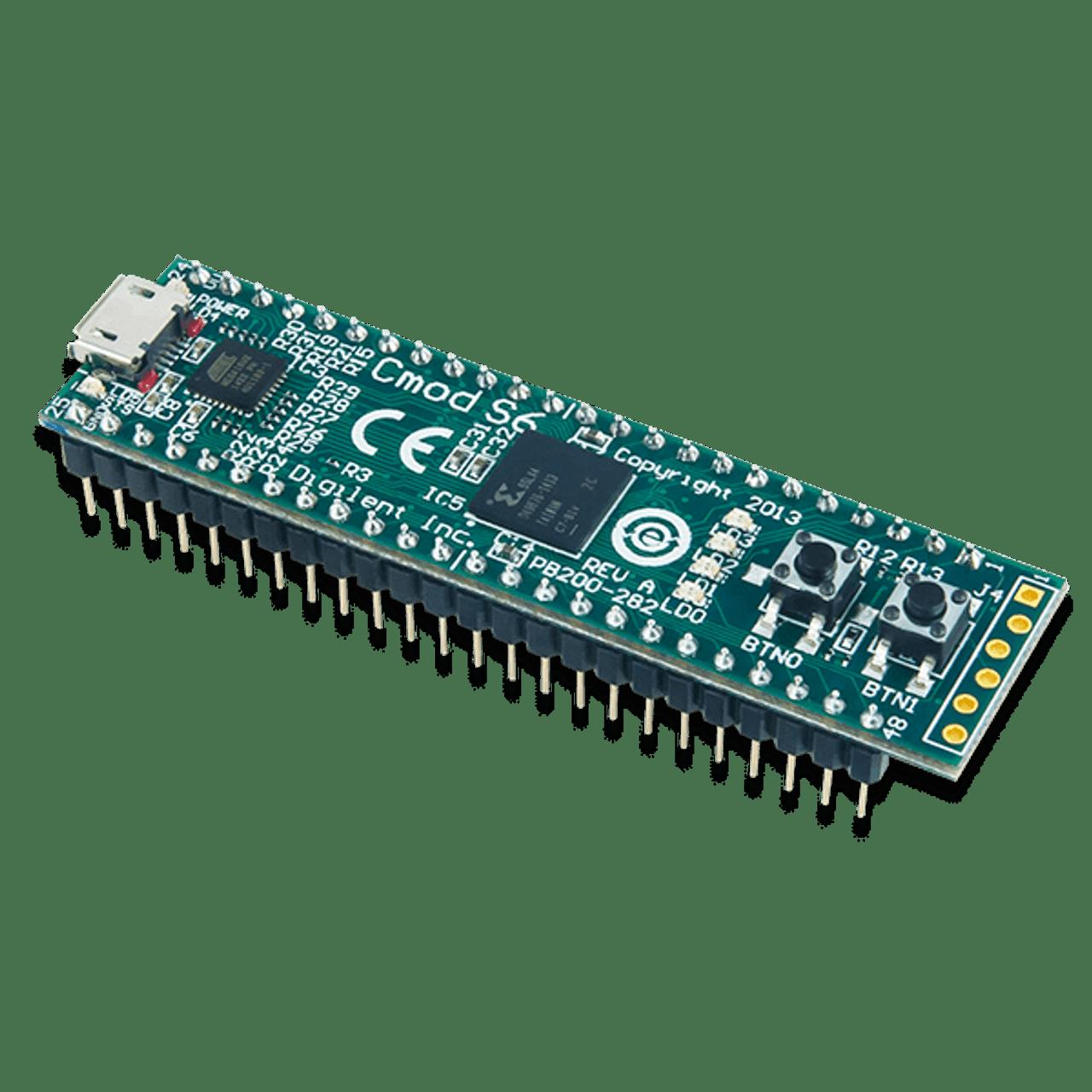 Cmod S6:即用型 Xilinx Spartan-6 FPGA 麵包板 │ DIP封裝
