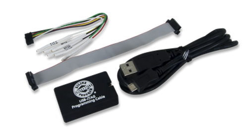 XUP USB-JTAG Programming Cable product image with the included components.