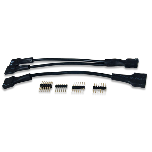 Pmod Cable Kit, 12-pin box contents.
