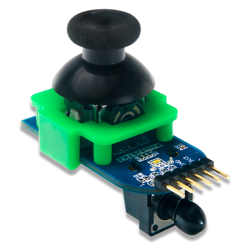 Pmod JSTK2: Two-axis Joystick product image.