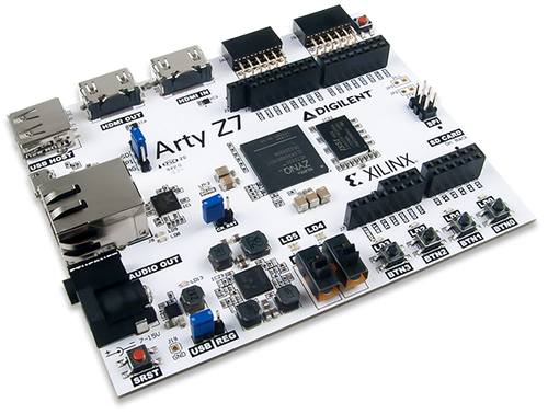 Arty Z7: APSoC Zynq-7000 Development Board for Makers and Hobbyists product image.