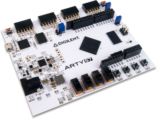 Arty S7: Spartan-7 FPGA Board for Makers and Hobbyists product image.