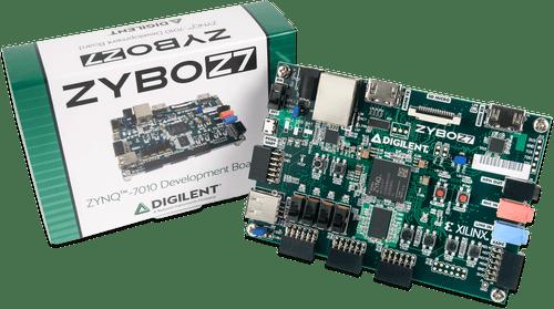 Zybo Z7: Zynq-7000 ARM/FPGA SoC Development Board product image.