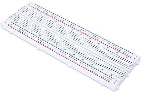 Solderless Breadboard Kit, oblique view.