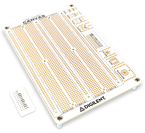 Product image of the Blank Canvas and 2x12 Power Breadboard.