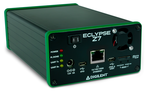 Product image of the front end of the Eclypse Z7 Enclosure. Note: Assembly is required.