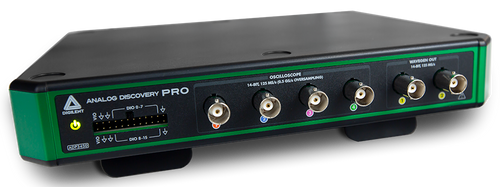 Product image of the Analog Discovery Pro: Model ADP3450 (SKU: 410-394).