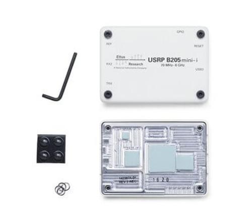 Product image of the B205mini-i enclosure kit contents.