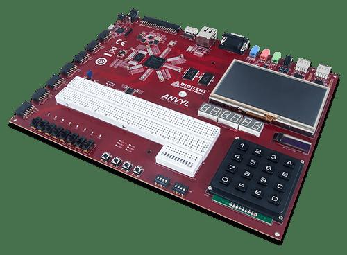 Anvyl Spartan-6 FPGA Trainer Board product image.