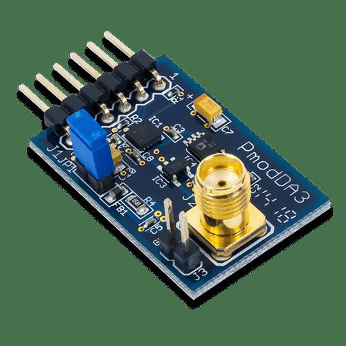 Pmod DA3: One 16-bit D/A Output product image.