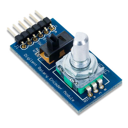 Pmod ENC: Rotary Encoder product image.