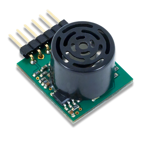 Pmod MAXSONAR: Maxbotix Ultrasonic Range Finder product image.
