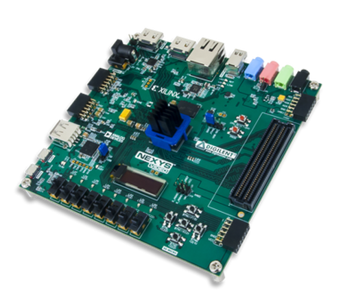Nexys Video Artix-7 FPGA: Trainer Board for Multimedia Applications prduct image.