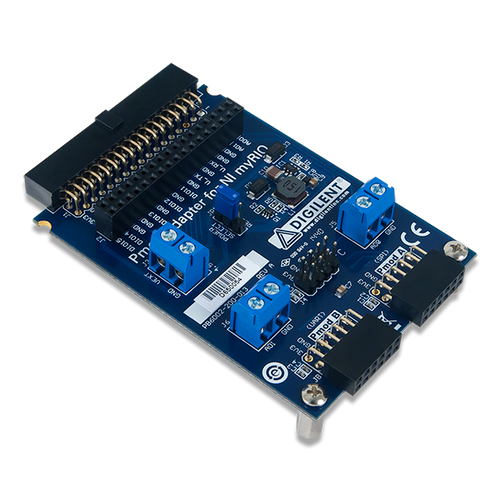 Pmod Adapter for NI myRIO, oblique.
