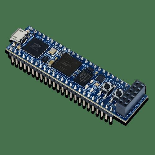 Cmod A7: Breadboardable Artix-7 FPGA Module product image.