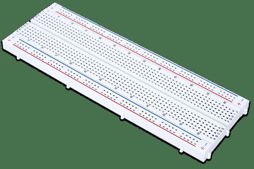 Solderless Breadboard Kit, oblique view.