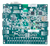 Bottom view product image of the Nexys 4 Artix-7 FPGA Trainer Board.