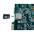 Product image displaying the use of the MicroSD Card and Adapter with an FPGA. FPGA is not included.