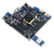 Product image of the Genesys 2 Kintex-7 FPGA Development Board in use with Pmods plugged into various ports.