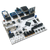Product image of the Arty Pmod Pack displaying the ease of plugging the included Pmods into the Arty FPGA. Includes the PmodACL, PmodALS, PmodAMP2, PmodBT2, PmodOLEDrgb. Arty sold separately.