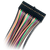 Close up image of the 2x16 Flywires: Signal Cable Assembly for the Digital Discovery, displaying the connector.