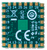 Bottom view product image of the JTAG-SMT4 surface mount programming module.