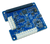 The MCC 128 Voltage Measurement DAQ HAT for Raspberry Pi®, displayed at an angle.
