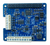 Top view product image of the MCC 128 Voltage Measurement DAQ HAT for Raspberry Pi®.