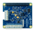 Top view product image of the MCC 152 Voltage Output and DIO DAQ HAT for Raspberry Pi®.