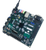 Product image of the included power supply plugged into the ZedBoard Zynq-7000 ARM/FPGA SoC Development Board.