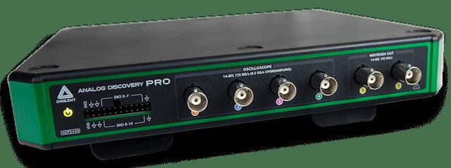 高解析度與混合訊號的完美相遇</br> Analog Discovery Pro 3000