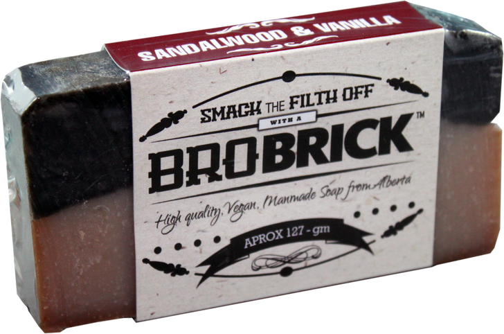 sandalwood and vanilla Bro Brick