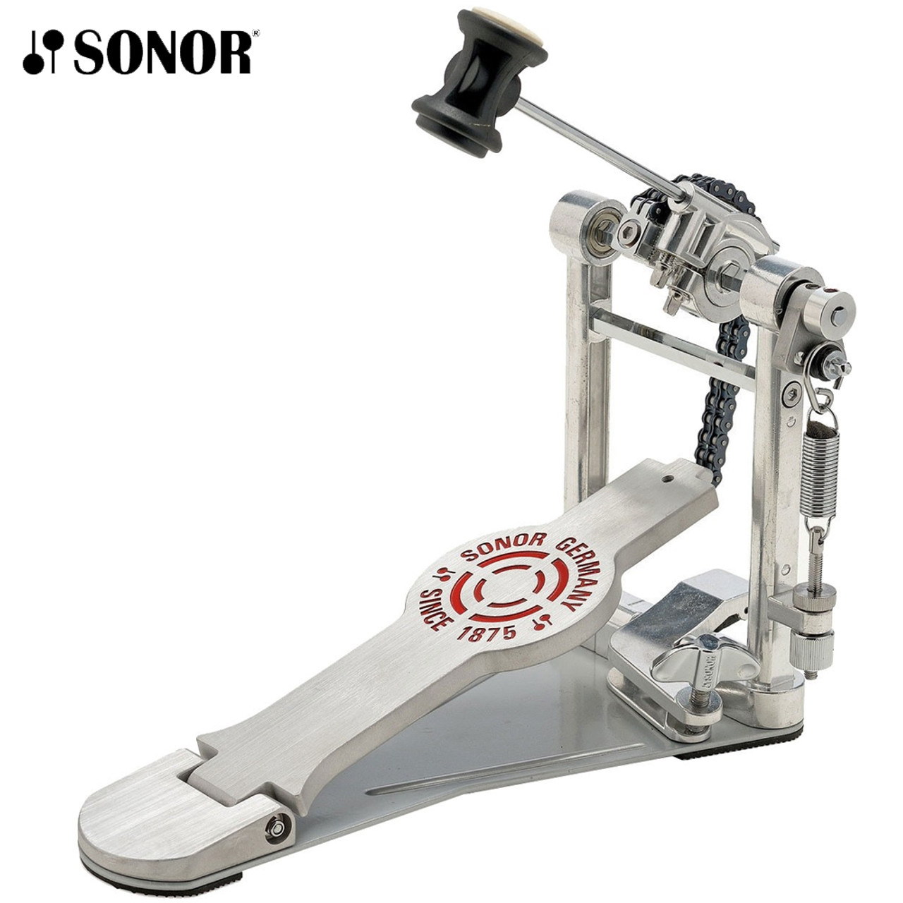 Sonor 4000 Series Double Bass Drum Pedal with 2-Way Beater with Bag DP-4000 R
