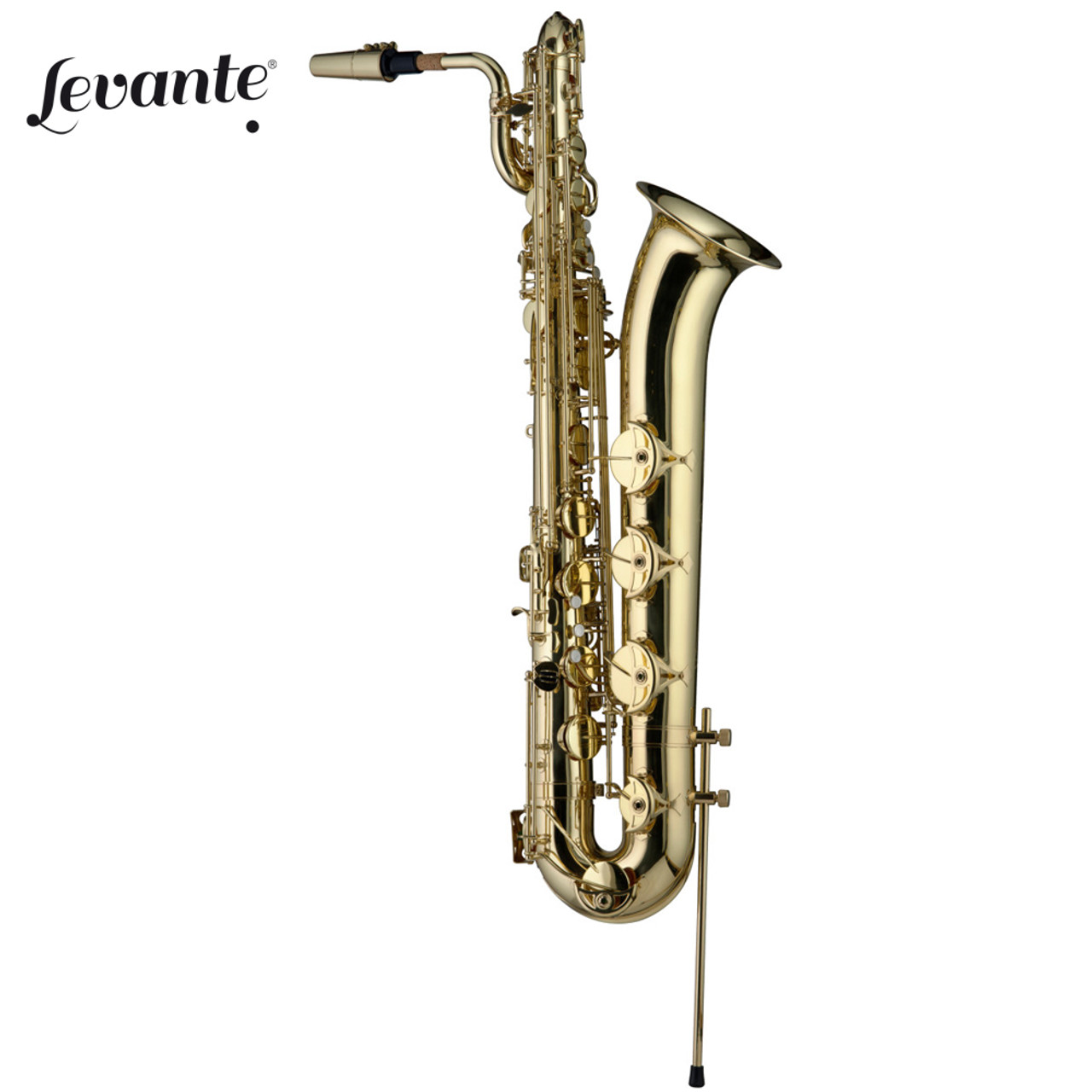 New Levante Lv-bs5605 Pro 3-valve Bb Baritone Horn Clear Lacquer With Soft Case Musical Instruments & Gear Baritones