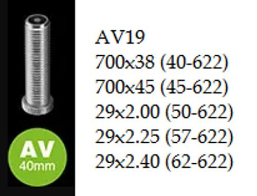 """Schwalbe Inner Tube - 29"""" - AV19"""